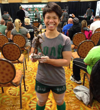 Zorahgail powerlifting champion